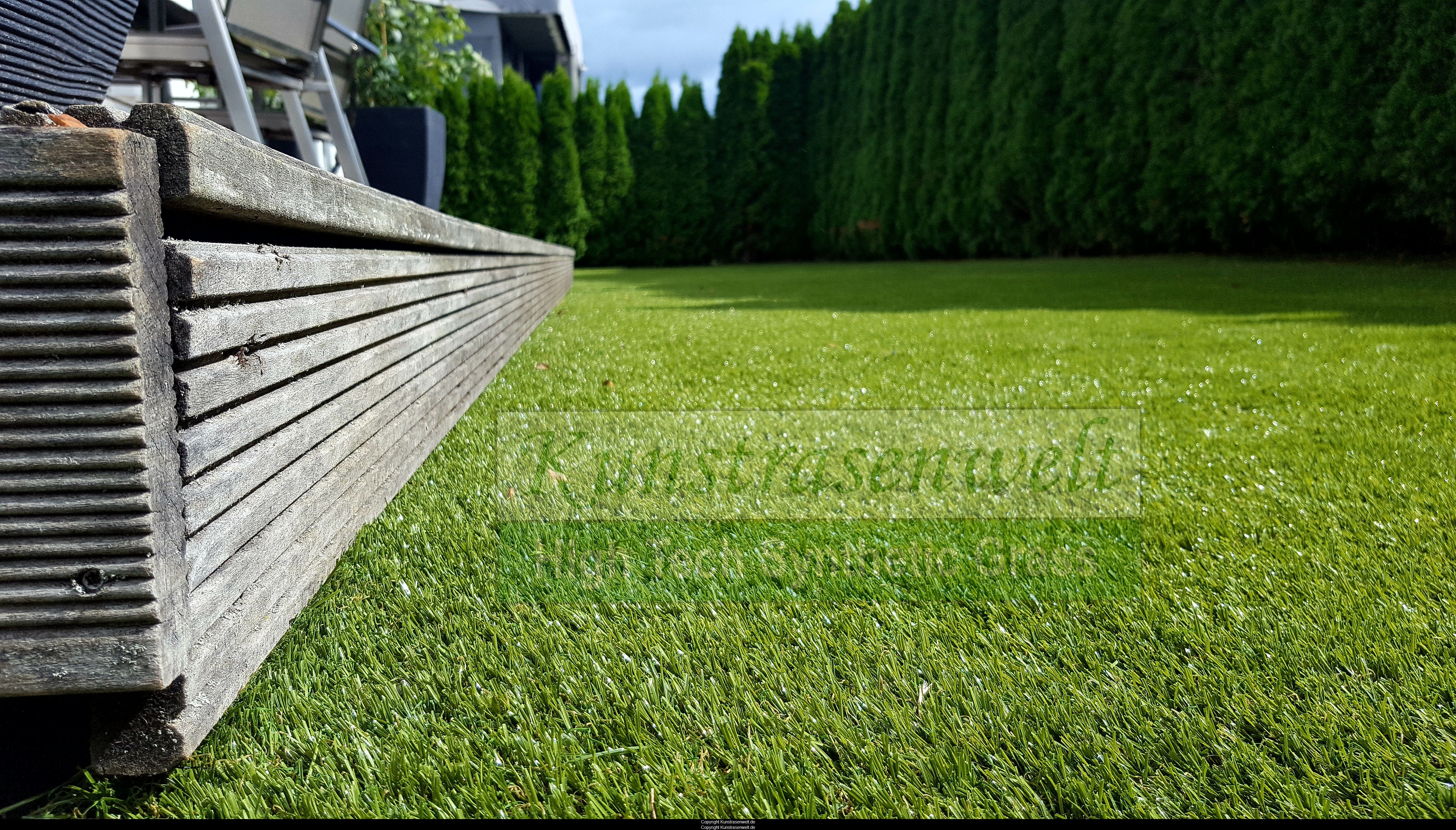 Garten Kunstrasen kunstrasen vom typ nature 106 in einem stuttgarter garten