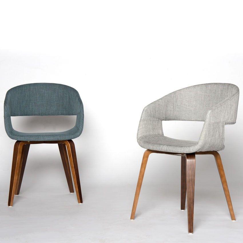 Enjoyable Blue Fabric Arm Chair Mobler Furniture Richmond Ibusinesslaw Wood Chair Design Ideas Ibusinesslaworg