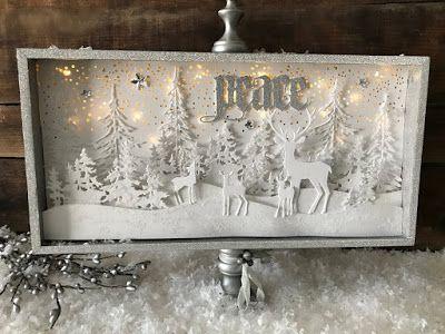 Winter Wonderland - Simon Says Stamp Guest (Richele Christensen) #decodenoelfaitmaison