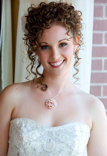 My Wedding Day hair - Blonde, 3b, Long hair styles, Wedding hairstyles, Readers, Female, Adult hair, Formal hairstyles, Homecoming hairstyles, Spiral curls, Layered hairstyles Hairstyle Picture