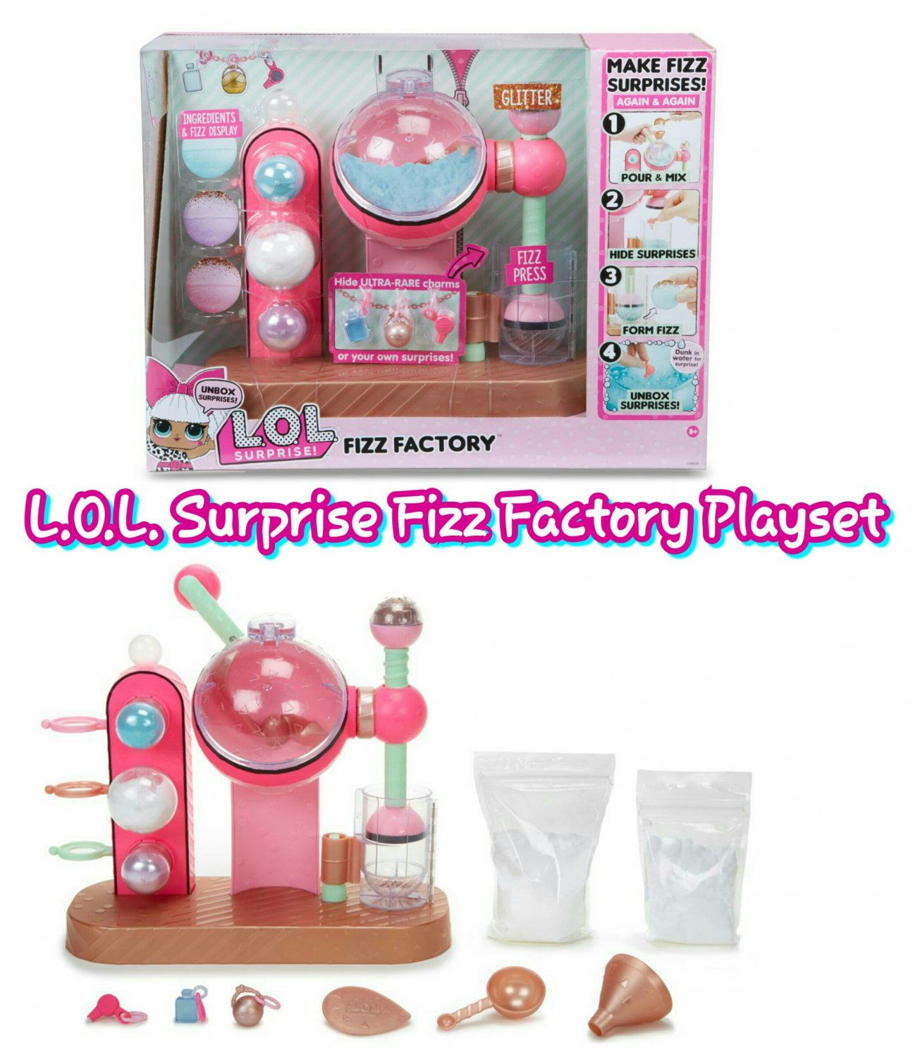 L O L Lol Little Outrageous Littles Surprise Charm Fizz Factory