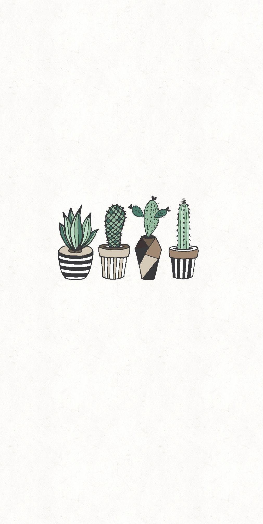 Aesthetic Cactus Wallpaper : aesthetic, cactus, wallpaper, Walpapers, Cactus, Drawing,, Minimalist, Wallpaper,, Plant, Wallpaper