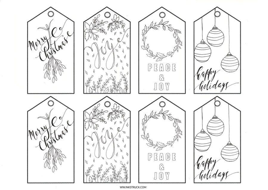 Printable Christmas Gift Tags Inkstruck Studio Christmas Gift Tags Printable Christmas Tags Printable Free Printable Christmas Gift Tags