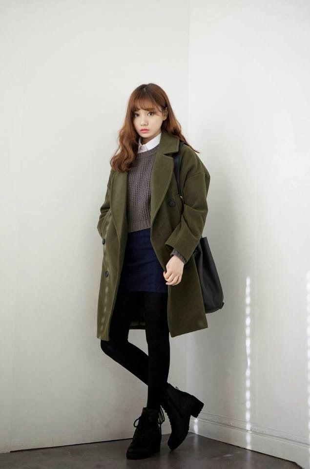 stunning korean oversized outfits 10