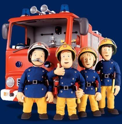 Sam le pompier d co enfant sam le pompier sam sam et - Dessin anime sam sam ...