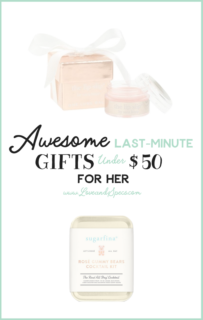 Awesome LastMinute Gifts Under 50 for Her Christmas