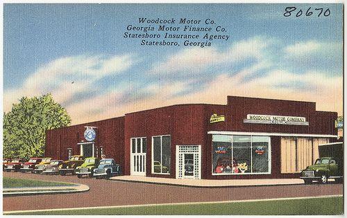 Woodcock Motor Co Georgia Motor Finance Co Statesboro