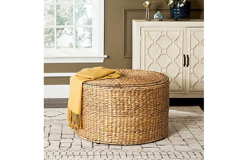 Jesse Storage Coffee Table Natural Wicker Coffee Table Coffee Table With Storage Table
