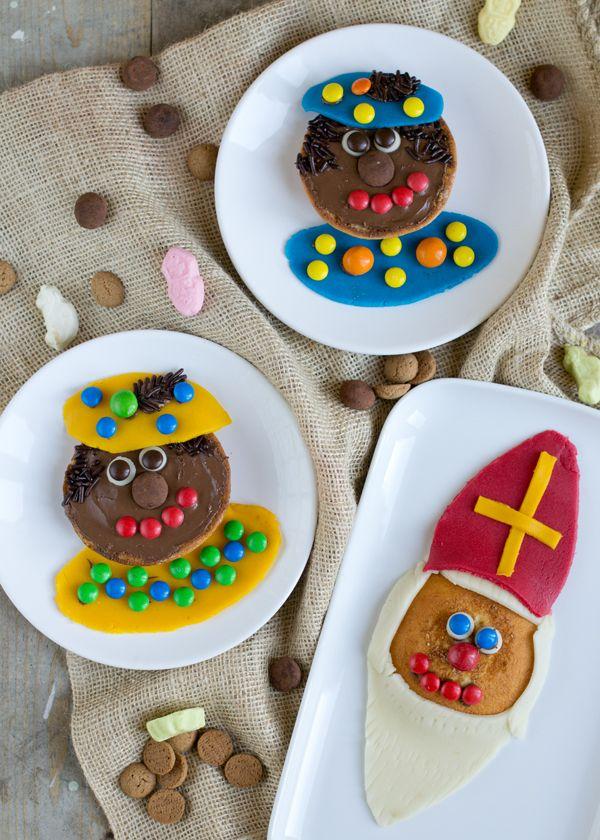 Sint en piet koeken - Sinterklaas recept #sintenpiet