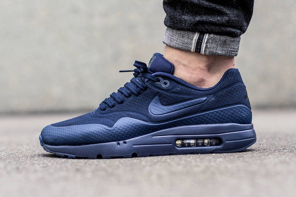 purchase cheap 140d0 57a6e La Nike Air Max 1 Ultra Moire se pare d un bleu nuit efficace -