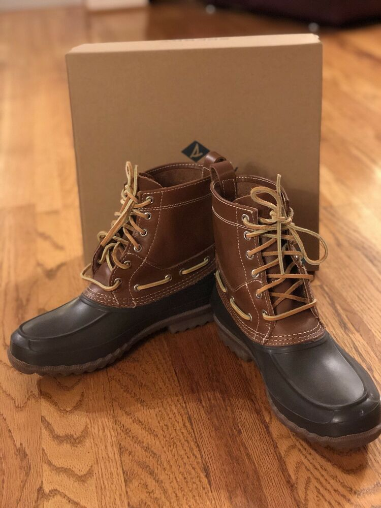 sperry duck boots 8.5 #fashion