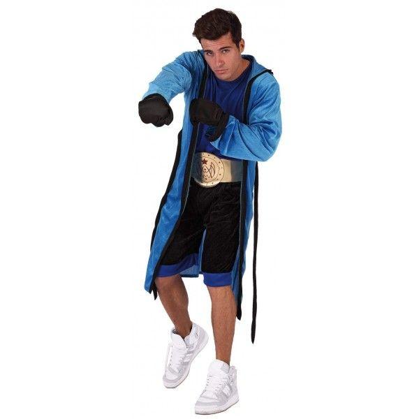 Disfraz de Boxeador Adulto. Prepárate para ganar el combate, no tendrás rival en tu fiesta de carnaval, grupos o despedidas. Puedes combinar...