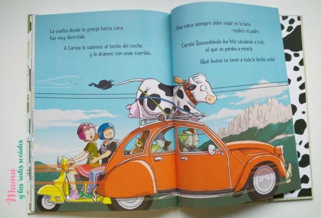 Hoy Contamos... Hay una vaca en la nevera