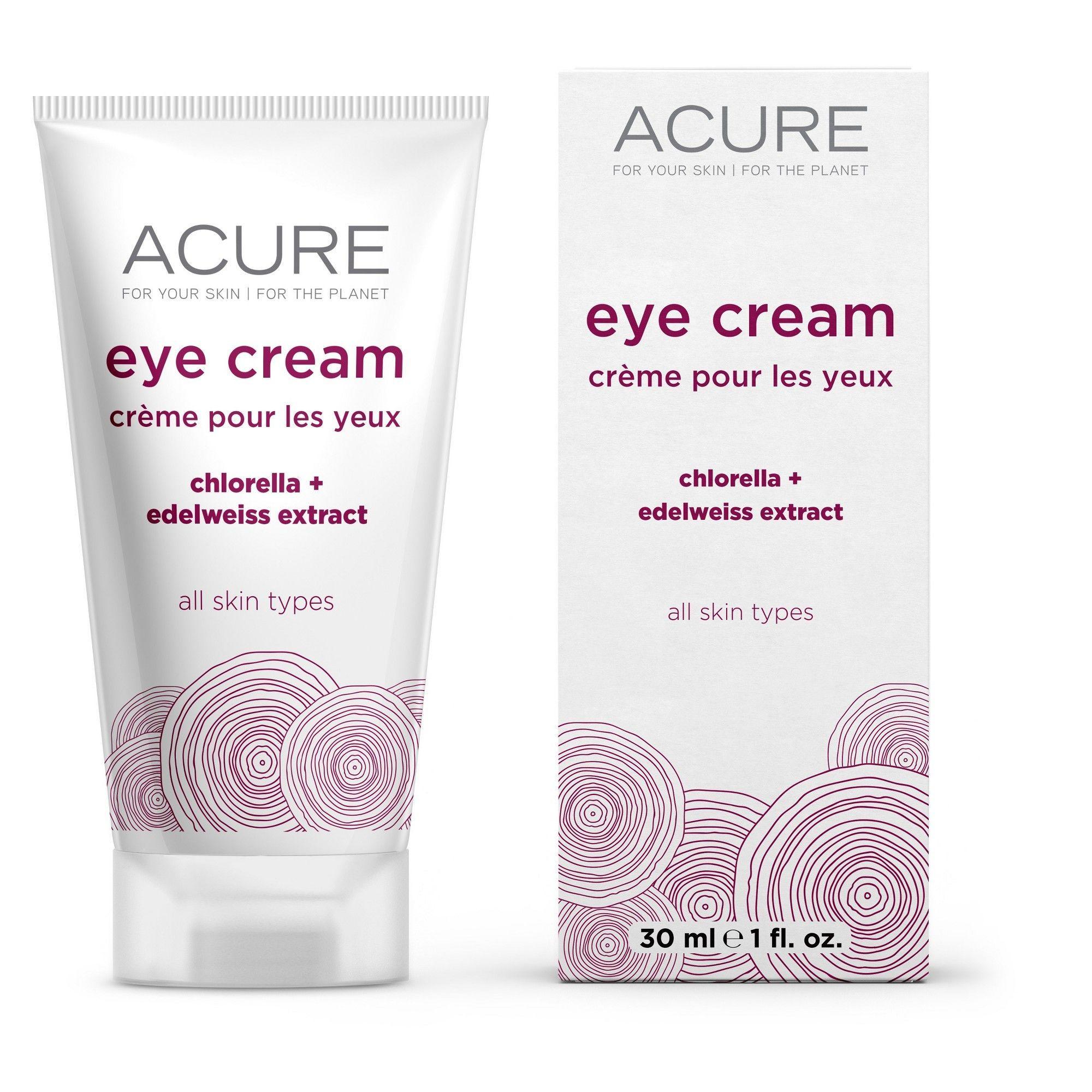 Acure Organics Eye Cream Superfruit + Cgf - 1 Oz