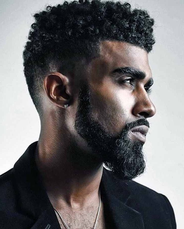 Image result for black men curly hair | Curly hair men | Pinterest ...