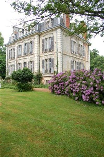 Front la creuzette french country manor house elegant home French country stone