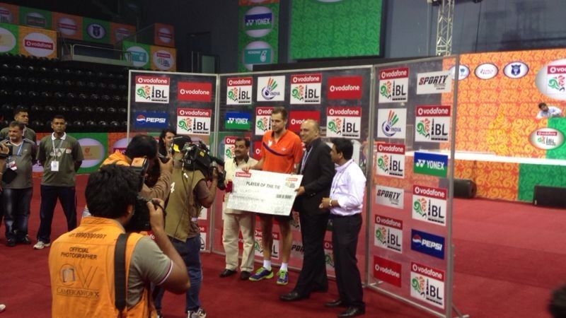 Player of the Match - Ivanov (New Delhi: 15th August)