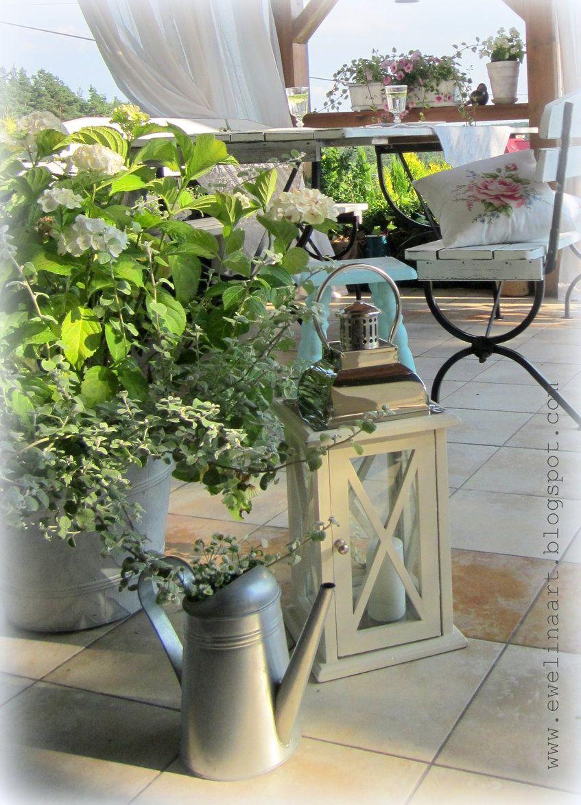 Rosliny I Ogrod Taras Letnie Aranzacje Taras Na Ktorym Lubie Spedzac Latem Czas Plants Garden Balcony