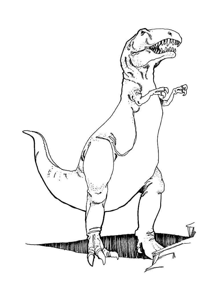 Dinosaurier 50 Ausmalbilder | Ideen für Torten | Pinterest | Hd ...