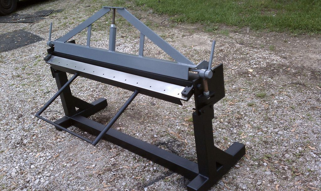 4 Ft Sheet Metal Hand Brake By J Chakey Sheet Metal Bender Metal Fabrication Tools Metal Working