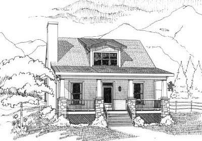 Craftsman House Plan 3 Bedrooms 1 Bath 1452 Sq Ft Plan 16 215