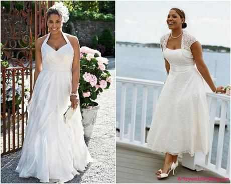 Choosing the Best Wedding Dress for a Short Plus Sized Woman ...