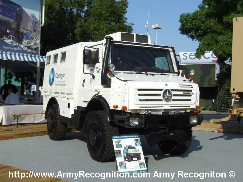 Mercedes Armored Rv Up Armored Unimogs