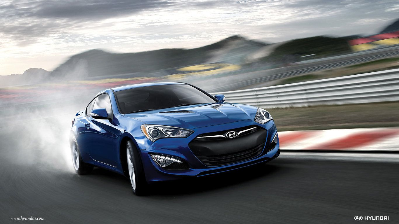 2015 Hyundai Genesis Coupe Wallpaper Hd 1366 768 Wallpaper Hyundai