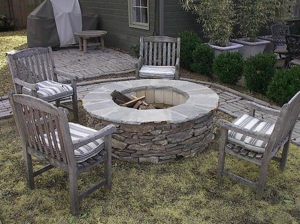 Shine Your Light Diy Stone Fire Pits