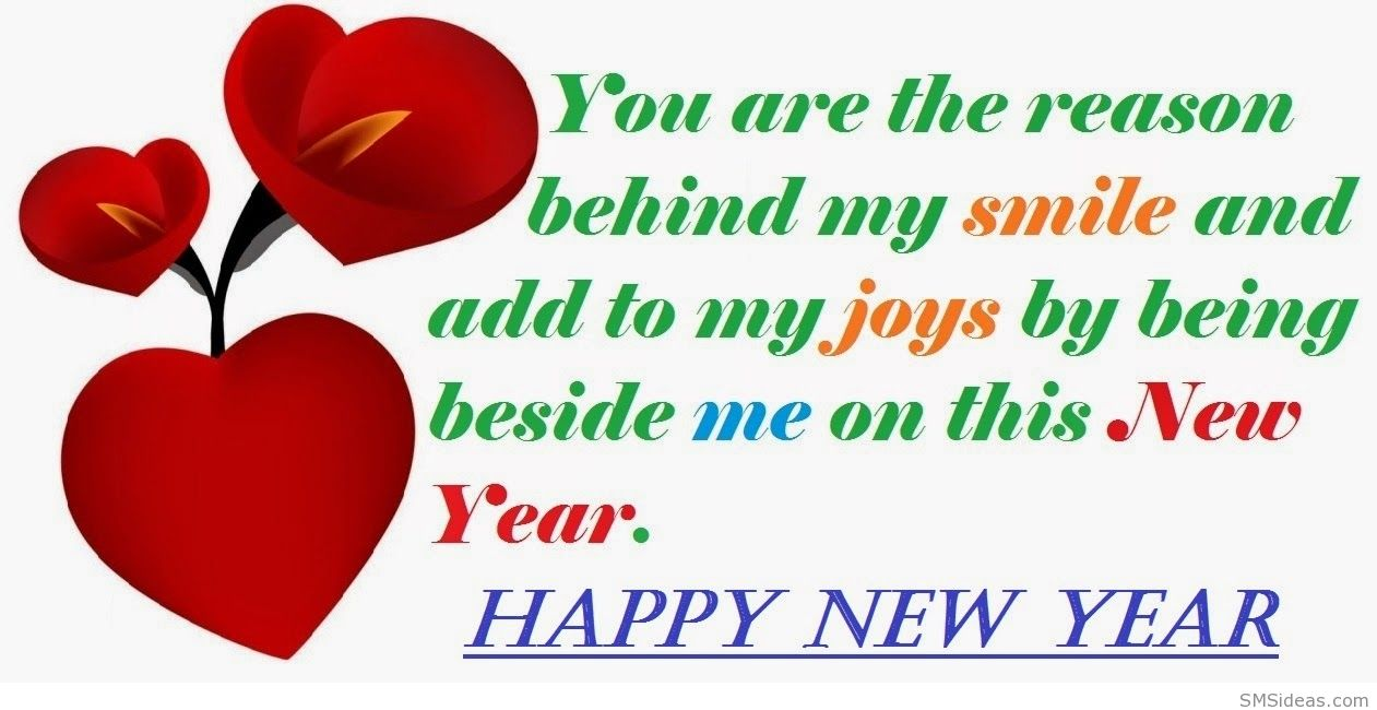 happy new year 2015 love card saying