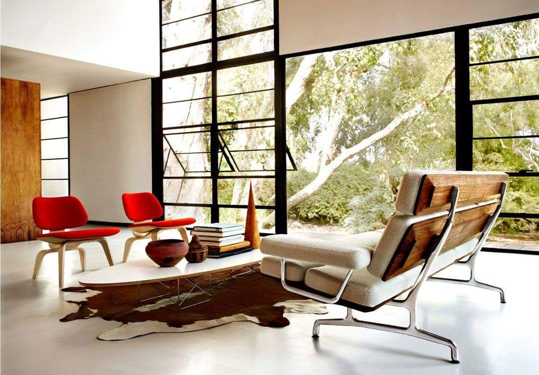 Eames house interiors interiors and house