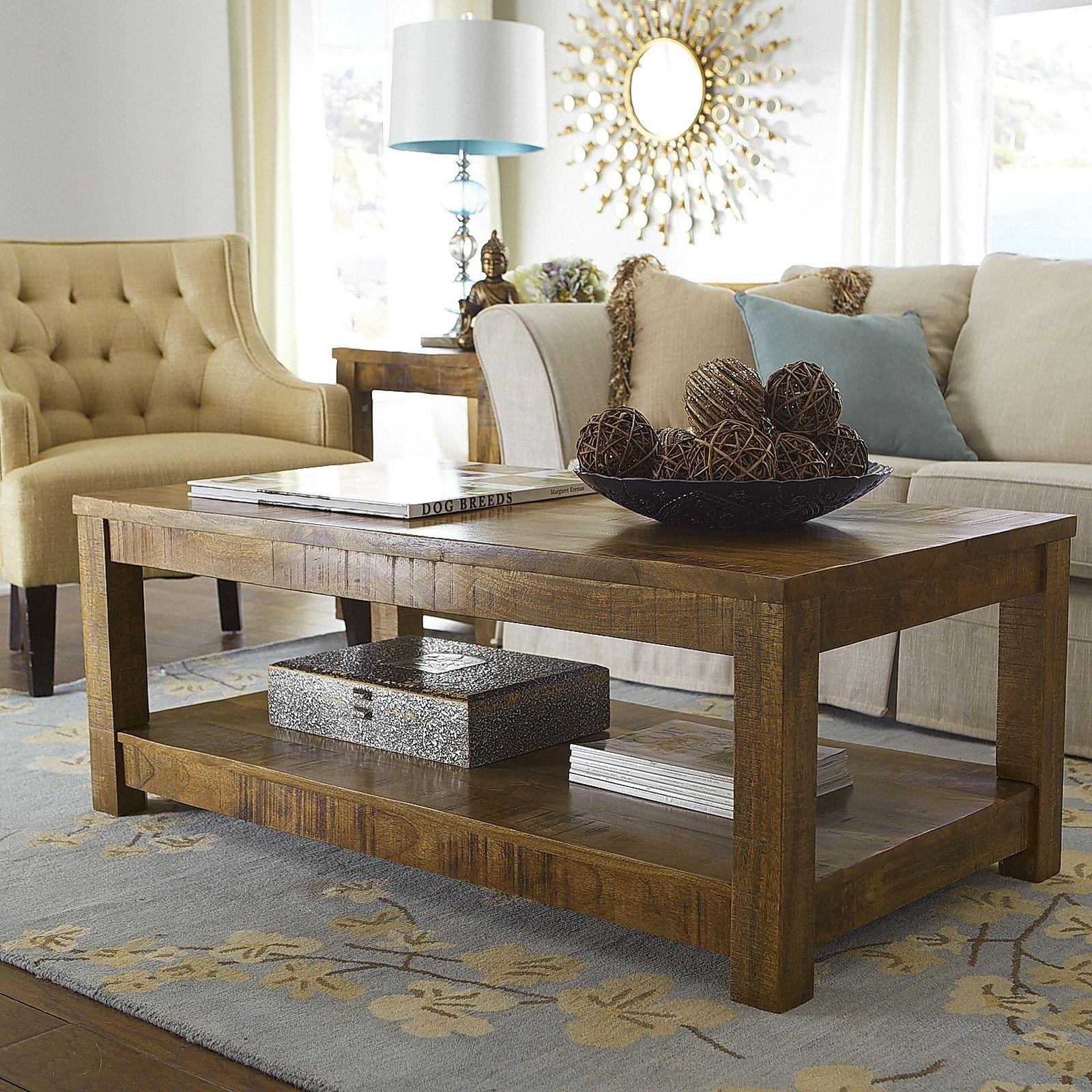 Parsons Java Coffee Table