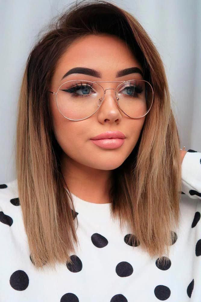 Straight Lob Hairstyles picture1 #longbob #choppybobhairstyles | Bob hairstyles, Long bob ...