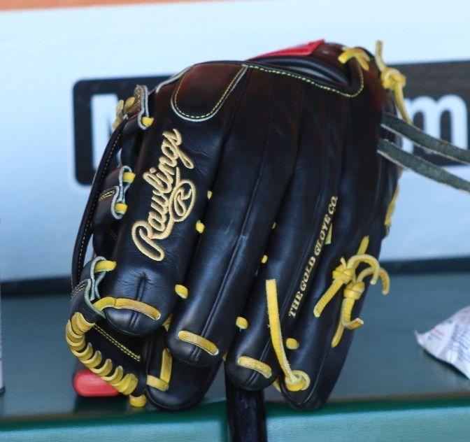 Starling Marte S Rawlings Pro Preferred Pro303 6kb Glove Rawlings Pro Preferred Rawlings Starling
