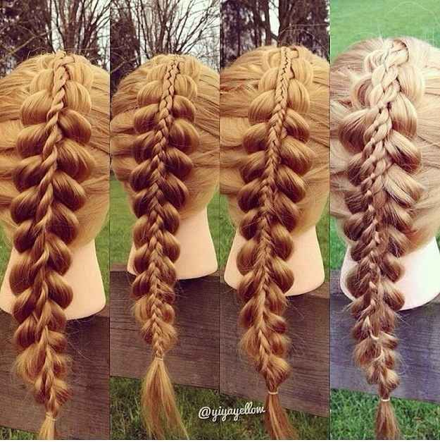 Are you an artist? | 35 Mind-Bogglingly Complicated Braids That Are A Feat Of Human Ingenuity Have you seen the new promotion Real Techniques brushes makeup -$10 http://youtu.be/GN4old3cbs4