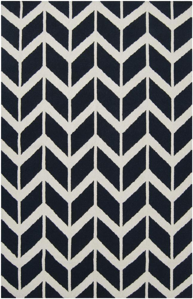 black and white rug patterns. Jill Rosenwald Arrowhead Rug, Midnight Blue / Lulu And Georgia Black White Rug Patterns W