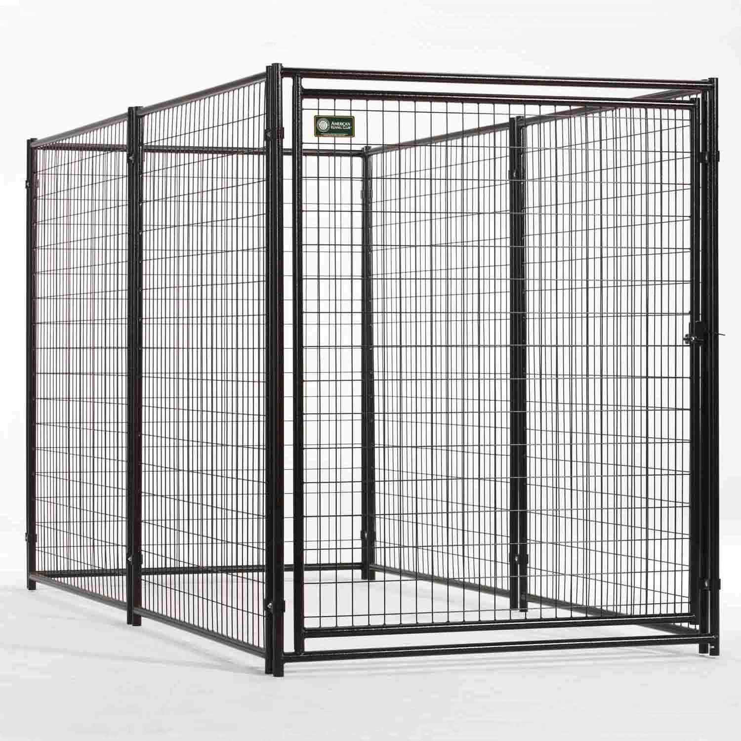 Lucky+Dog+Powder-Coated+Kennel+-+10\'+L+X+5\'+W+X+6\'+H.+This+kennel+is ...