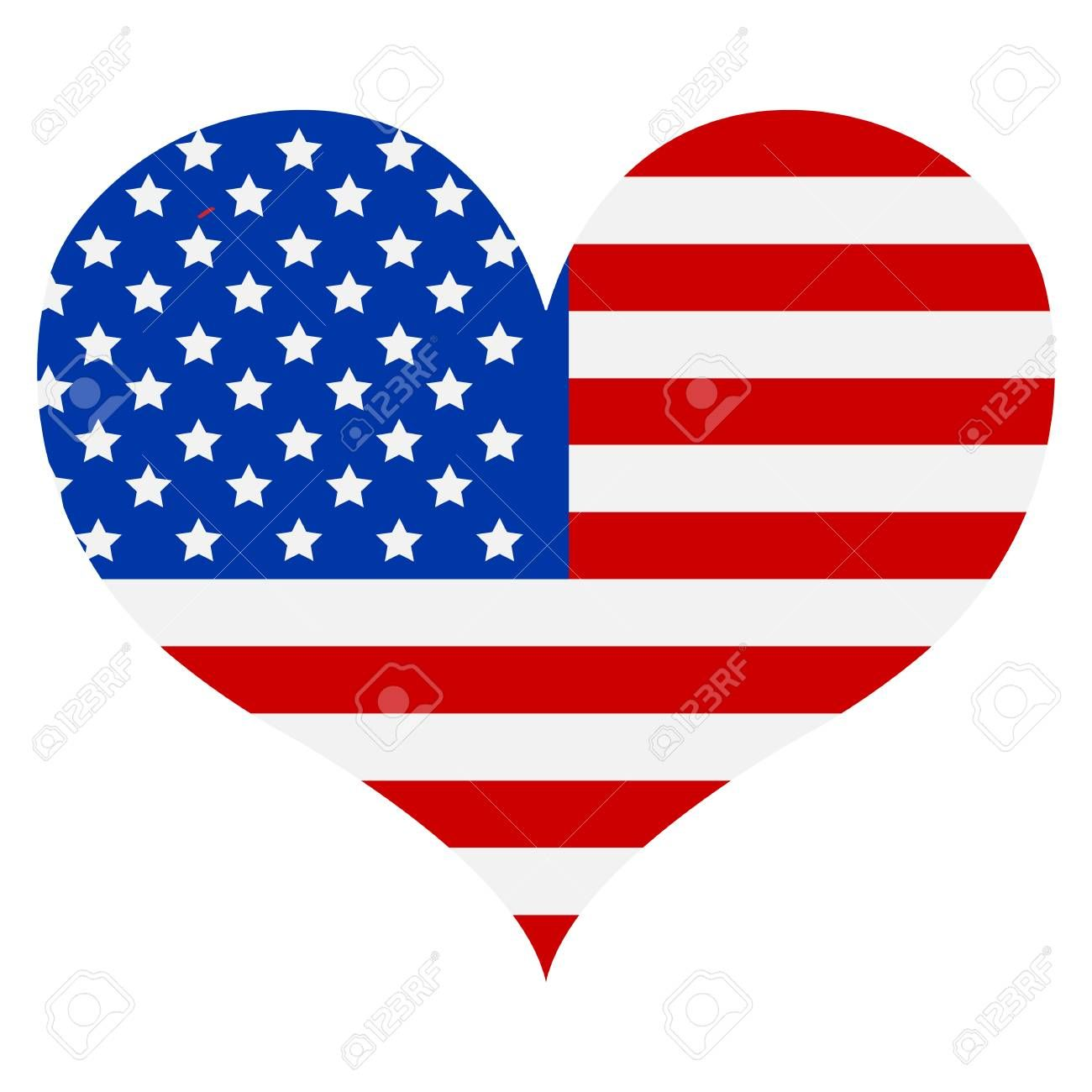 American Flag Icon Happy 4 Th July And Independence Day Vector Illustration Illustration Affiliate Happy In 2020 Flag Icon American Flag Vector Illustration