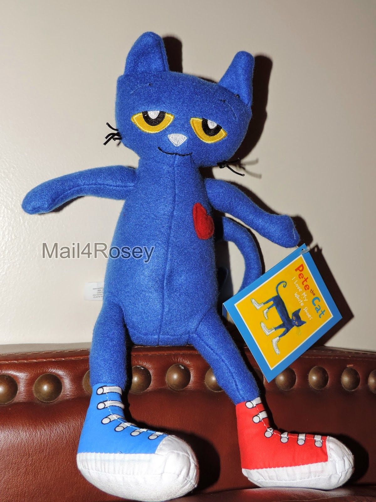 Merrymakers inc pete the cat plush review giveaway
