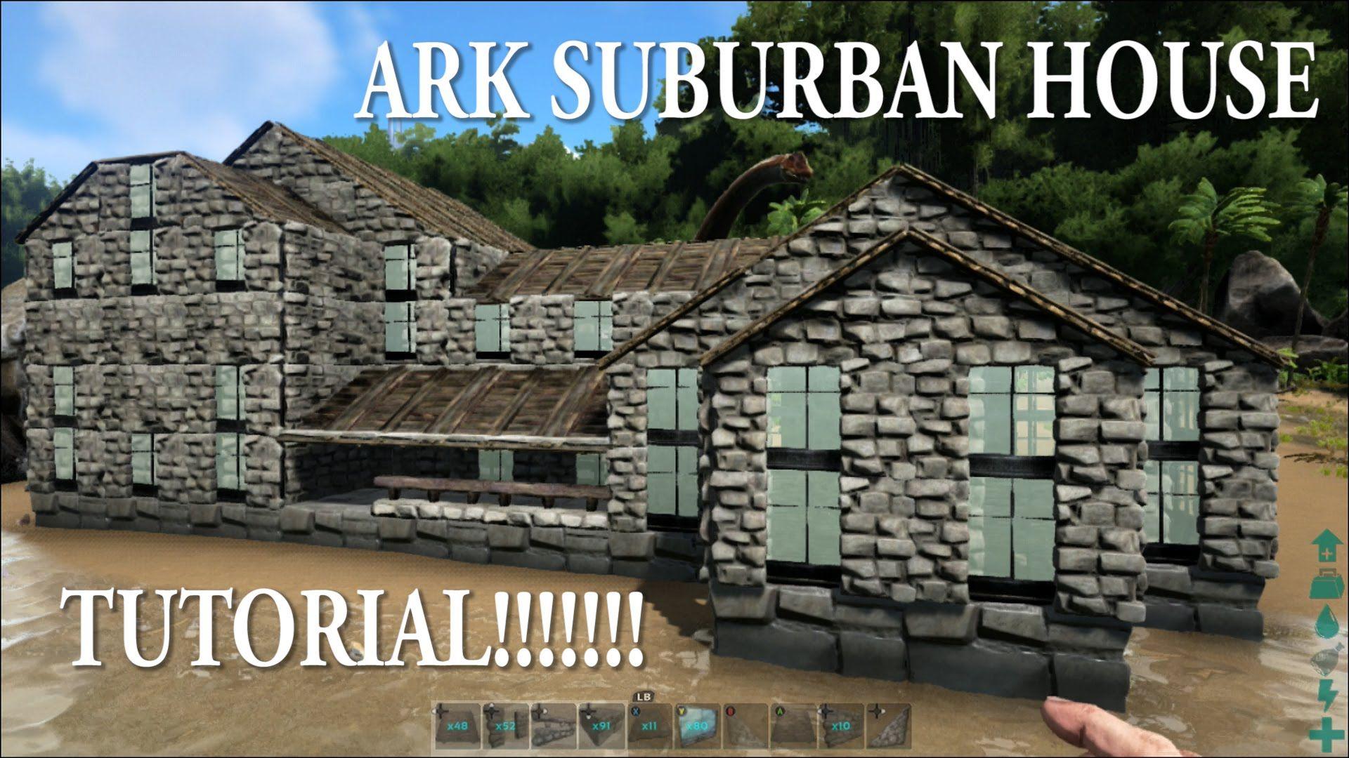Tutorial House Building Ark Survival Evolved Bases Ark