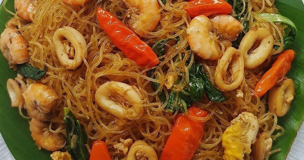 Resep Masakan Bihun Goreng Seafood Buatan Rumah Yang Enak Banget Resep Masakan Masakan Resep