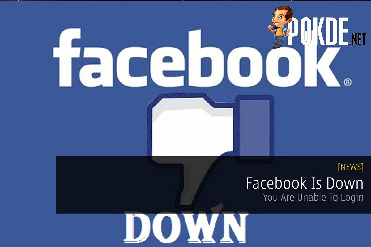 Facebook Is Down You Are Unable To Login Updated Pokde Net Login Web Application Facebook Messenger