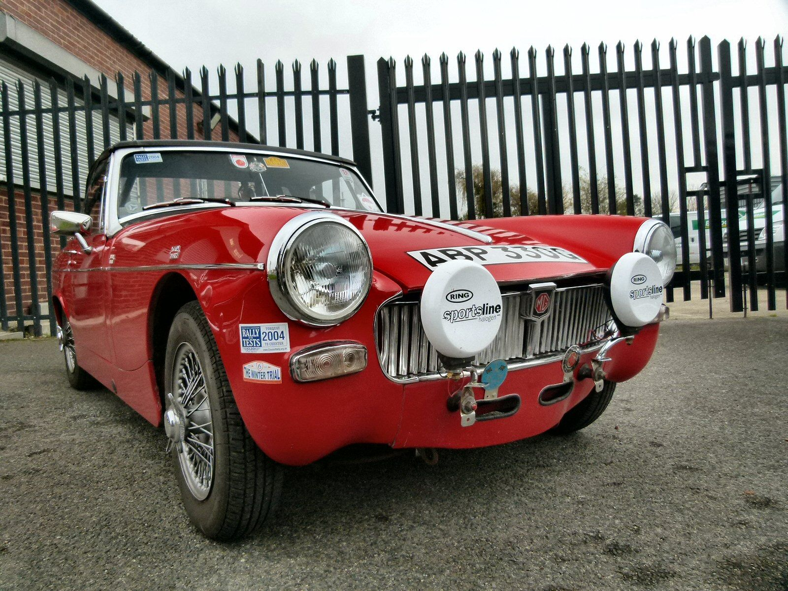 Not take mg midget rally car matchless