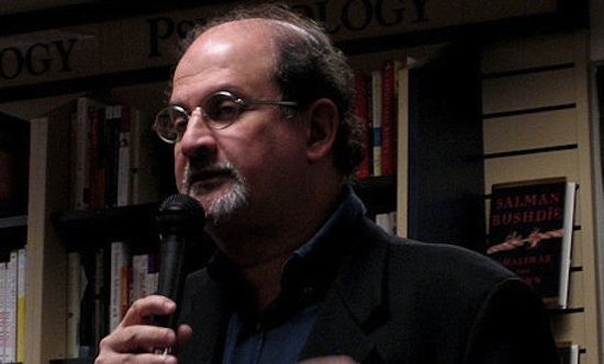 "Salman Rushdie writes NYT op-ed on ""political courage"""
