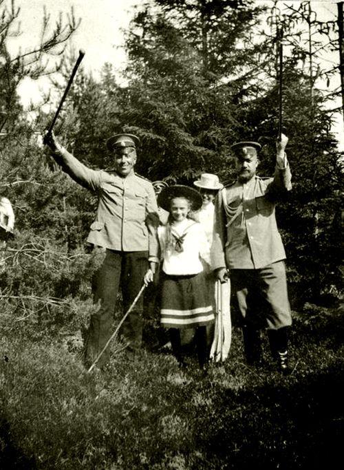 Tatiana and officers