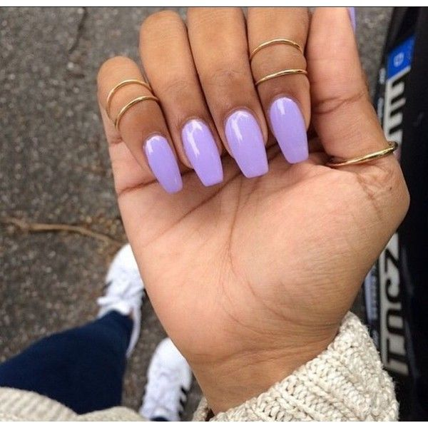 Khayanderson Purple Acrylic Nails Lavender Nails Short Acrylic Nails