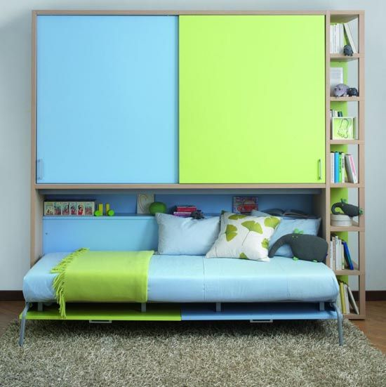 Childrens Single Folding Bed System Collection From Dearkids