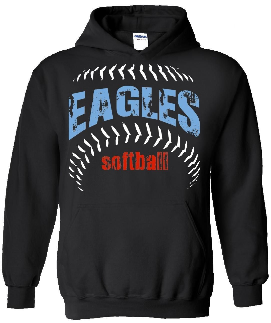 T shirt design ideas for schools - Eagles Spiritwear Hoodie Design School Spiritwear Shirts And Apparel Use Your Mascot Graphic Or
