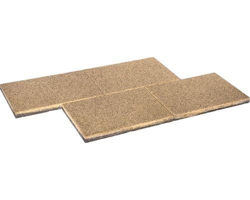 Beton Terrassenplatte IStone Basic GranitGelb Xx Cm - Gehwegplatten granit 50x50