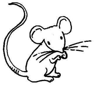 Fre Clipart Mouse Black And White Recherche Google Risunki